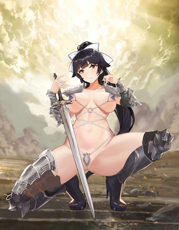 戦士・騎士エロ画像19